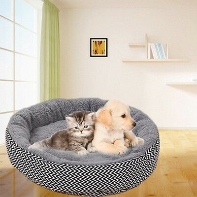 Deluxe Soft Washable Dog Pet Warm Basket Bed Cushion with Fleece Lining Hot
