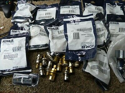 large lot of 70 Kohler Sink,shower, Faucet PARTS