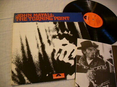 """John Mayall """"Turning Point"""" Original 1969 Lp With Booklet Polydor 583 571 Stereo"""