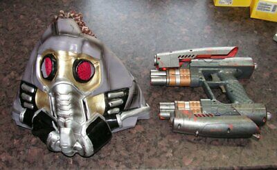 GUARDIANS OF THE GALAXY STARLORD NERF GUN + RUBBER MASK - Custom Cosplay - WOW