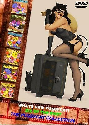 Classic---SIX OF THE BEST ON DVD--WHATS NEW PUSSYCAT! --8mm films