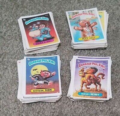 Lot of 150+ GARBAGE PAIL KIDS Cards 1980's Series 3-10