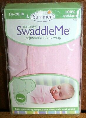 The Original Swaddle Me Adjustable Infant Wrap in Size S//M By Summer Infant/_SALE