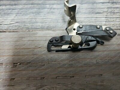 Old Vtg SINGER Sewing Machine ATTACHMENTS Genuine Part ADJUSTABLE HEMMER #35831