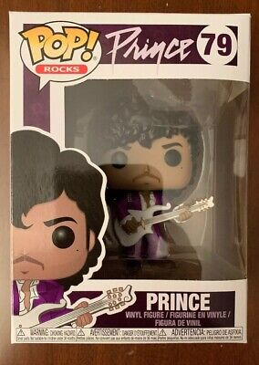 (1)Funko Pop! Vinyl Figure-Rocks-PRINCE-Purple Rain Version Common # 79-Unopened