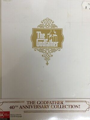 THE GODFATHER TRILOGY I II III 40th Anniversary DVD Box Set BRAND NEW!