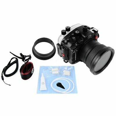 Seafrogs 40m Waterproof Underwater Housing Case For Sony A7II 28-70mm Camera