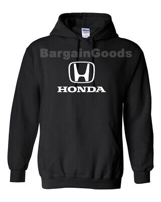 Honda Hoodie Honda Civic Accord CR-V Pilot Racing Sweatshirt  Adult Size S-2XL