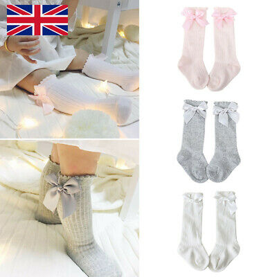 BABY GIRL METALLIC /& BOW  PATTERNED TIGHTS