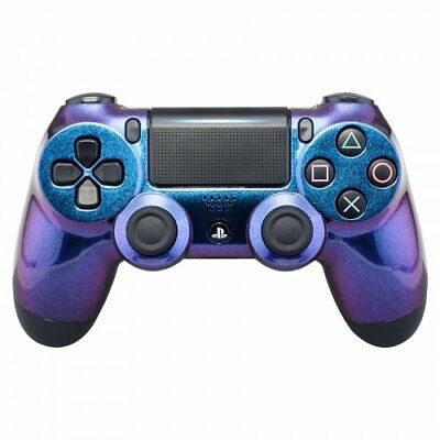 Sony Playstation Dualshock PS4 Wireless Controller Custom Soft Touch Chameleon