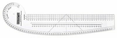 Grading and Pattern cutting Curved Ruler - (high quality)