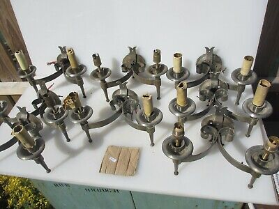 Wrought Iron Wall Lights Sconces Lamps Gothic Medieval Style Job Lot Bulk x8