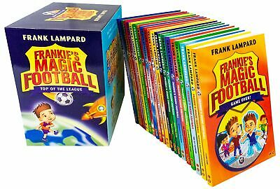 Frankies Magic Football Top Of The League 20 Books Box Set By Frank Lampard New