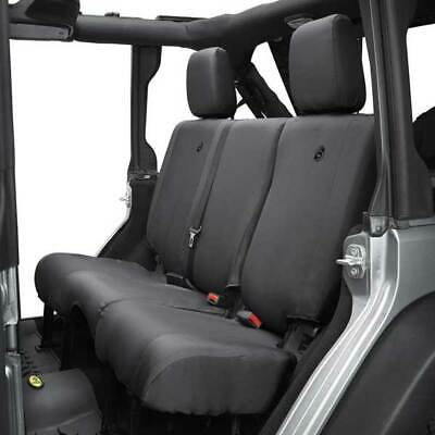 sold as individual seat cover Bestop 29229-35 Black Diamond Rear Bench Seat Cover for 2003-2006 2DR Wrangler /& Unlimited