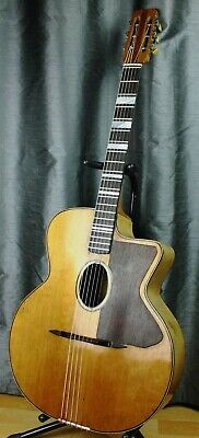 old gypsy jazz guitar - luthier 1950's - guitare manouche