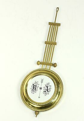 "R/A REGULATOR CLOCK PENDULUM 9-15/16"" - 3.6 oz. WITH RATING NUT - ZZ381"