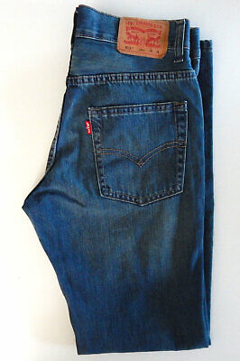 Levi's 511 ~ Men's ~ Boys ~ Slim Fit ~ Blue Jeans 16 Reg ~ 28 X 29.5 Measured