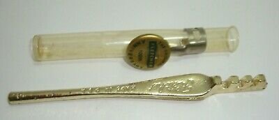 The Original Fletcher 100th Anniversary Glass Cutter with Pocket Clip Medallion