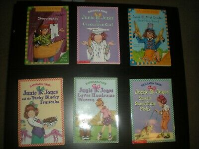 Lot of Six Junie B Jones Early Reader Chapter Books PaperBack