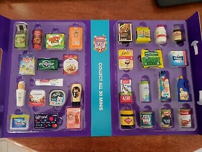 Coles Little Shop 2 Individual Minis or Full Set
