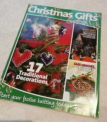 ALAN DART CHRISTMAS GNOMES & DECORATIONS KNITTING PATTERN Very cute