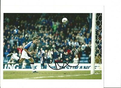 David John Dunn signed 10x8 inch colour photo, football player EL134