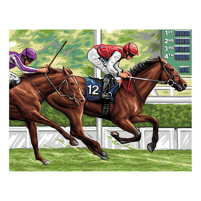 Royal Paris Tapestry Printed Canvas The Race Horseracing | 98801320197