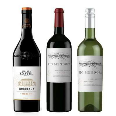 A mixed Red & White Wine - Mendoza Malbec, SaltaTorrontes & Bordeaux Merlot