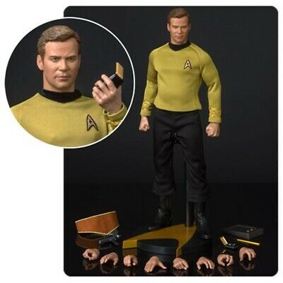 Star Trek TOS Captain Kirk 1/6 Scale by QMX Master Series Reissue Presell