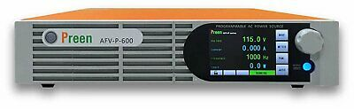 Preen Programmable AC Power Source 600VA 500W 0-310VAC 15-1000Hz