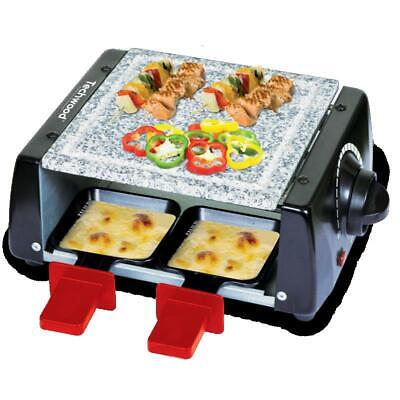 [Ref:TRA-45P] TECHWOOD RACLETTE 4 PERS. AVEC PIERRE CUISSON TECHWOOD -