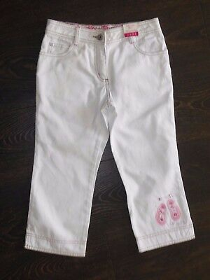 **REDUCED** BNWT Gorgeous NEXT Girl's White Jeans age 9 Years