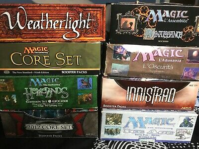 Mtg Booster Pack Grab Bag/Lot - Inc 6 X Premium Boosters - Inc/ Antiquities, Rev