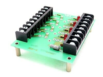 New Crydom Ms-4 I/O Mounting Board Ms4