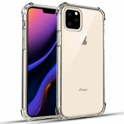 Clear Silicone Case for iPhone 11 Pro MAX X XS XR 7 8 6 6S Back Cover