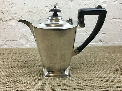 Lovely Vintage Antique Silver Plate Epns Pinder Bros Sheffield Coffee Pot