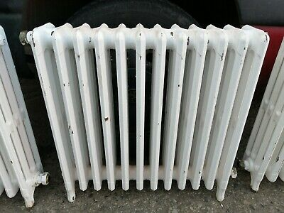 No2 Vintage  Free Standing 12 Section  Cast Iron Radiator  660Mm X 145Mm X 615Mm