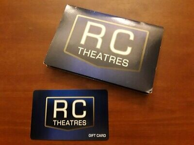 $25 RC Theatres Gift Card - Never Used - MD, NC, PA, and VA