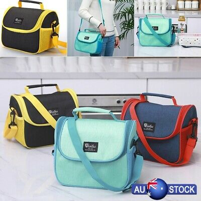 Insulated Lunch Bag Coolbag Work Picnic Adult Kids Food Storage Lunchbox New