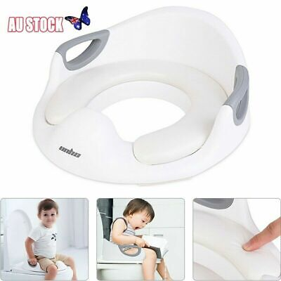 Potty Training Seat For Kids Toddlers Boys Girls Toilet Seat For Baby With Cushi