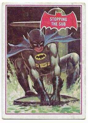 1966 Batman Red Bat (39A) Stopping The Sub ::