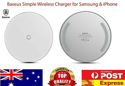Baseus Wireless Charger Qi 10W Fast Charging for iPhone X 8 XS XR Samsung Huawei