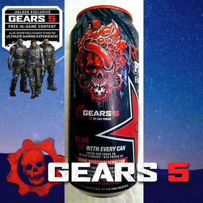 GEARS OF WAR 5 - LIMITED EDITION ROCKSTAR Can #2 of 6 (CODE ONLY) DLC