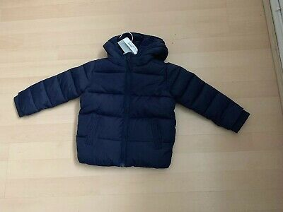 Bluezoo Boys Navy Shower Resistant Padded Jacket  2-3 Years New Gift Kids