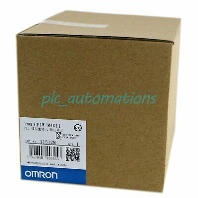 NEW IN BOX Omron 1pc PLC Analog I/O Module CP1W-MAD11 CP1WMAD11 free shipping