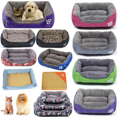 Large Pet Dog Cat Bed Puppy Cushion House Pet Soft Warm Kennel Mat Blanket 3XL