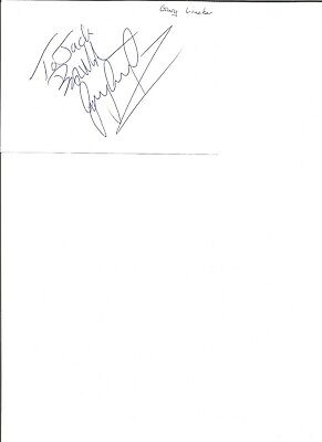 Gary Lineker 6x4 inch autograph piece, former football player EL370