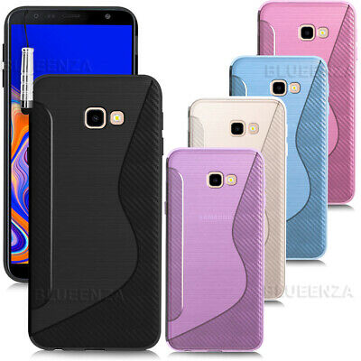 For Samsung Galaxy S10+ J2 J4+ A7J8 A6 S10 Case Gel Rugged Cover Soft Clear