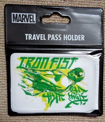 Marvel Comics Iron Fist  Id Card Holder Travel Train Oyster Card Holder