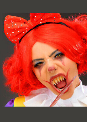 It Clown Pennywise Style Pointed Teeth Fangs with Putty